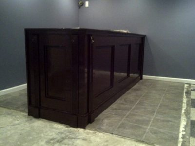 Custom Bar Built In Home on Long Island