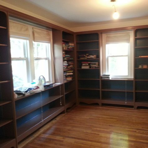 Bookshelves Custom Built on Long Island