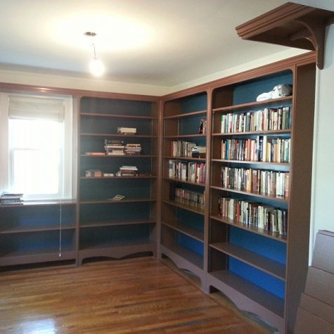 Custom Made Book Shelves on Long Island