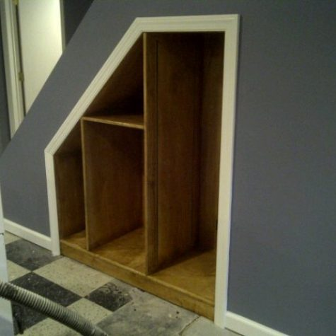 Custom Built In Shelving and Storage on Long Island